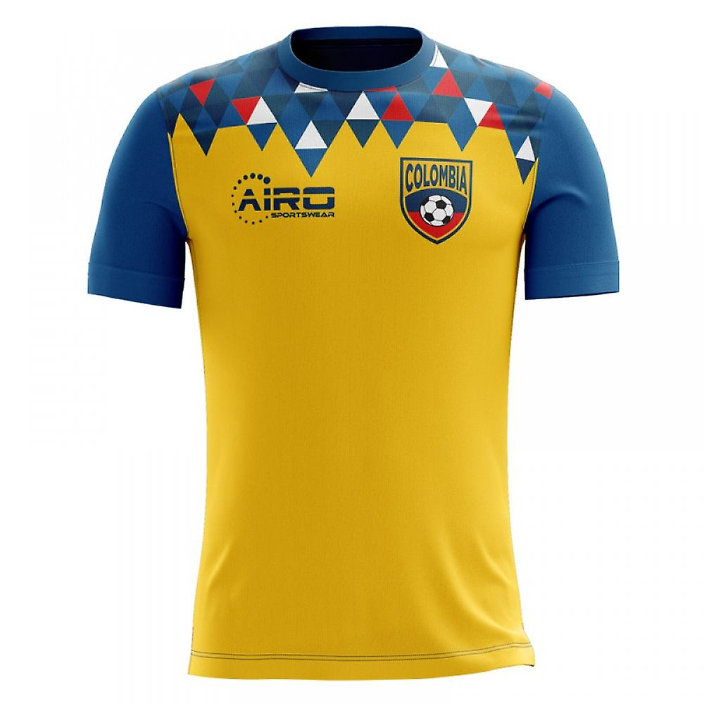 Maillot de foot Home Concept 2018-2019 Colombie