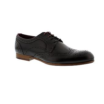 Ted Baker Granet - Black Leather (Brown) Mens Shoes