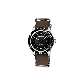 Wenger mens watch Roadster black night 01.0851.121