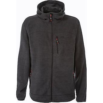Trespass Mens Barack Lightweight Full Zip Knitted Fleece Jacket