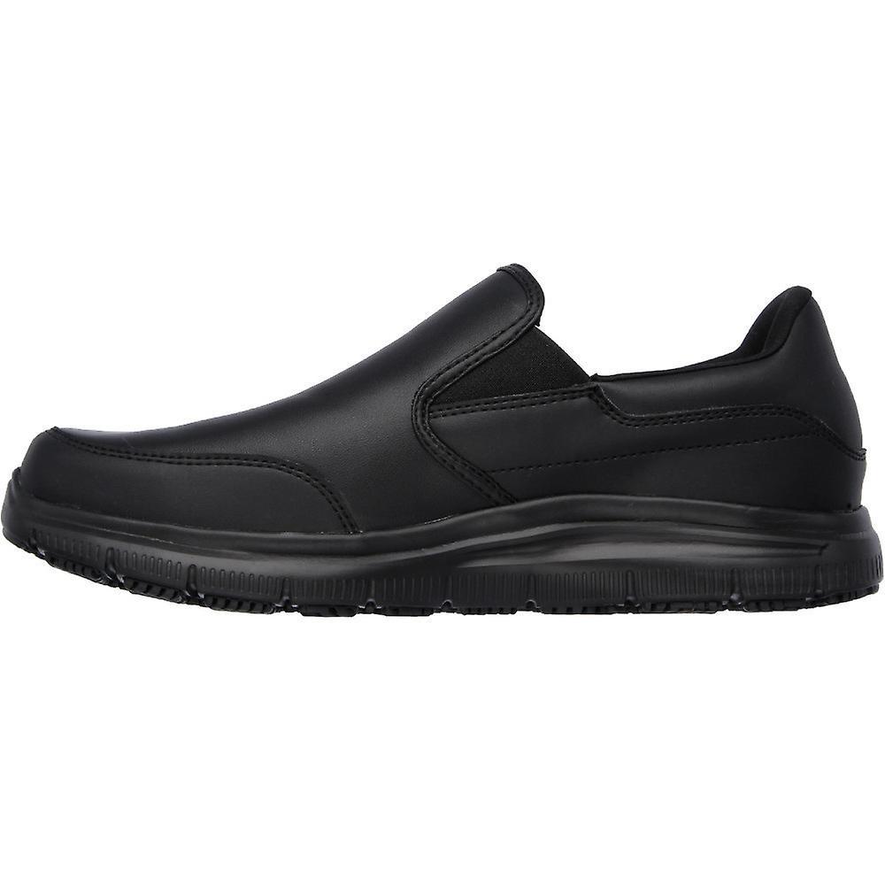 Shoes Flex Slip Mens Advantage Bronwood Skechers Slip Resistant On wTH8Cz5zq