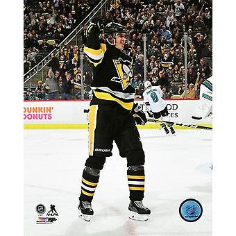 Evgeni Malkin 2017-18 Action Photo Print