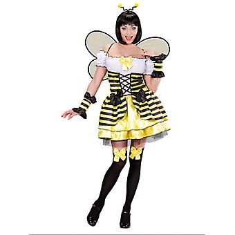 Bee Costume (Dress Cuffs Wings Antennas)