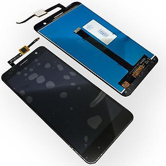 Espositore completo a LCD per ZTE blade nero V7