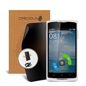 Celicious Privacy 2 vie Visual Black Out Screen Protector per Oppo R817 Real