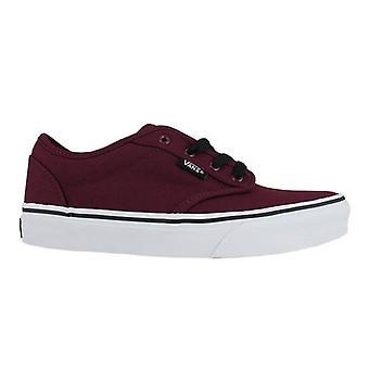 VANS Chaussures Skate Vans Atwood toile Oxblood blanc enfants