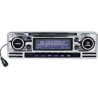 Caliber Audio Technology RCD-120BT Bluetooth Car stereo Retro design, Bluetooth handsfree set