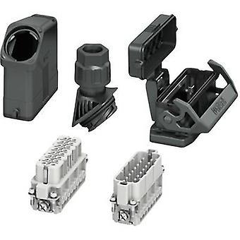 スリーブ住宅と設定すると、コネクタのネジ、ピン接触挿入とソケット コンタクト挿入 HC-EVO-A16UT-BWSC-HH-M25-PLRBK フェニックスお問い合わせコンテンツ: 1 セット