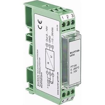 Condizionatore di segnale di temperatura configurabili MU-PT100-I420-50/100 di Enda per PT100.