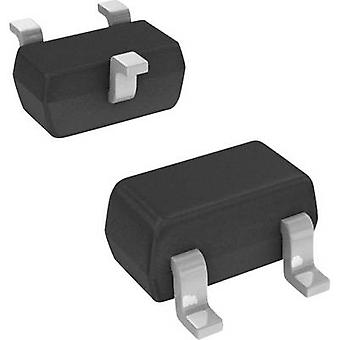Schottky diode array bridge 200 mA DIODES Incorporated BAS40-05T-7-F SOT 523 Array - 1 pair, common cathodes