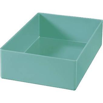 Alutec Assortment case insert (L x W x H) 162 x 108 x 45 mm No. of compartments: 1