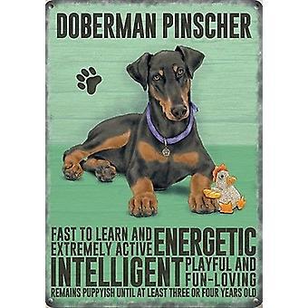 Doberman Pinscher Fridge Magnet