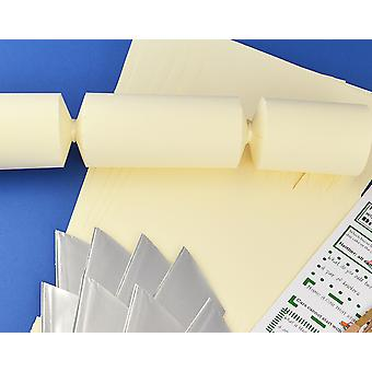 Single Jumbo Ivory Make & Fill Your Own Cracker Making Craft Kit