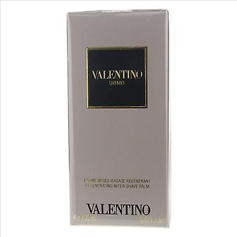 Valentino Valentino Uomo Regenerating After Shave Balm 3.4oz/100ml New In Box