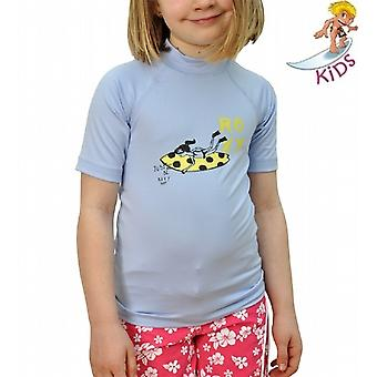 Surf Dots Short Sleeve Rash Vest