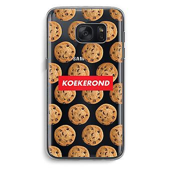 Samsung Galaxy S7 gjennomsiktig sak (myk) - Koekerond