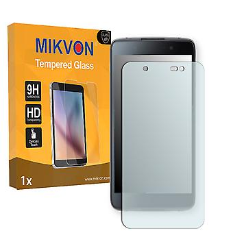 BlackBerry DTEK50 Screen Protector - Mikvon flexible Tempered Glass 9H (Retail Package with accessories)