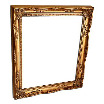 Inner dimensions 25x30 cm or 10x12 inches, photo frame in gold