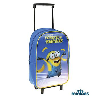 Minions 3D Efekt suitcase Mini Backpack 36 x 24 x 11 cm