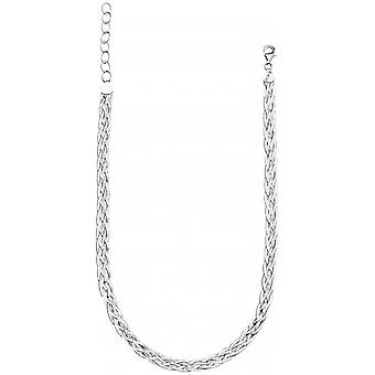 Beginnings Treccia Weave Necklace - Silver