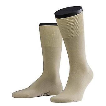 Falke Wool / Cotton Airport Socks - Beige