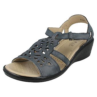 Eaze Sandals F3105 Navy Size UK 4