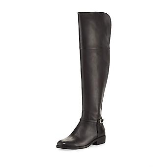 Cole Haan Womens Valentia OTK Boot Leather Almond Toe Over Knee Riding Boots