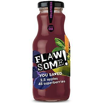 FLAWSOME Apple & Superberry Fruchtsaft
