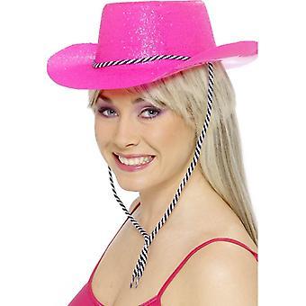 Cowboyhut Glitter, Einheitsgröße