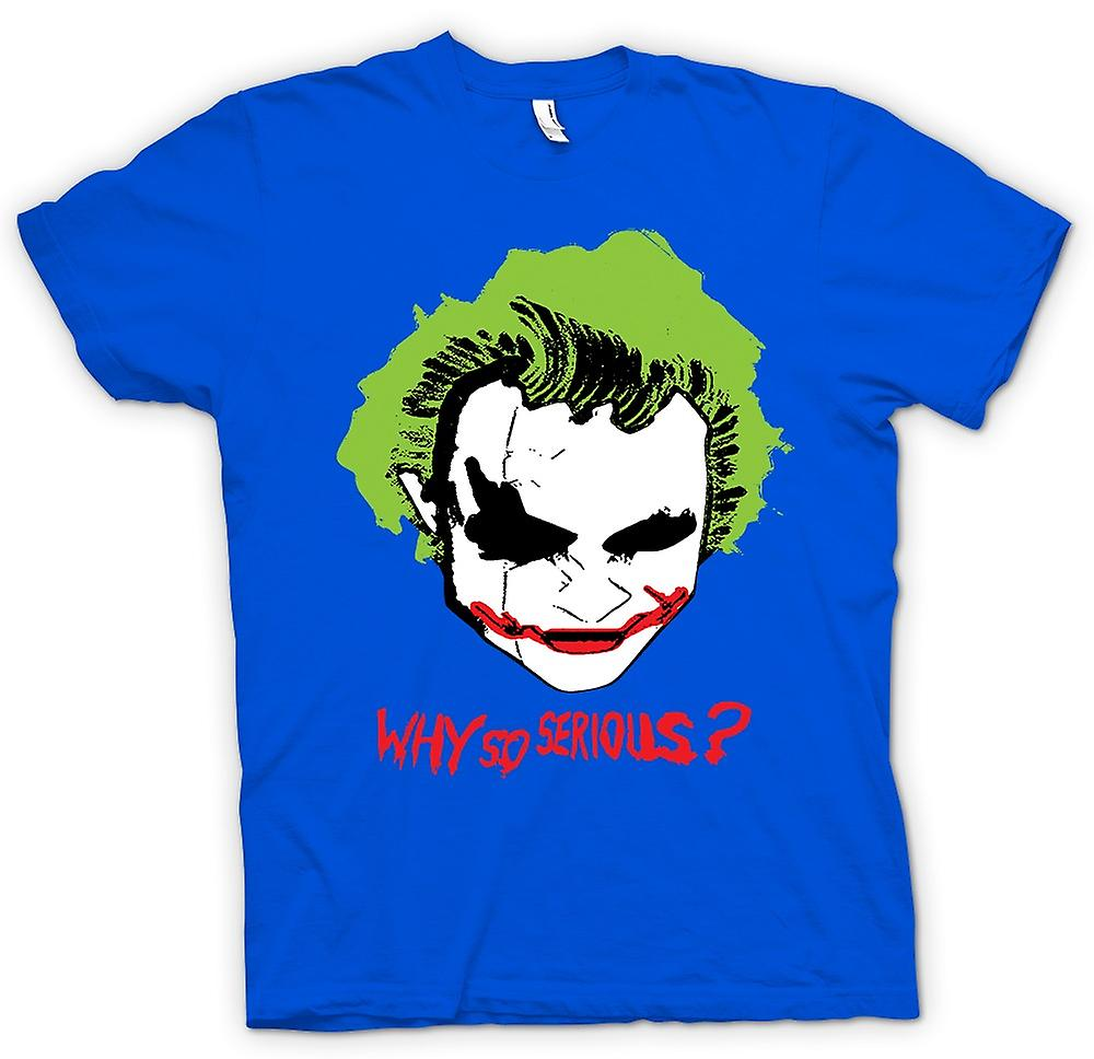 Mens t-shirt-Batman Why So Serious