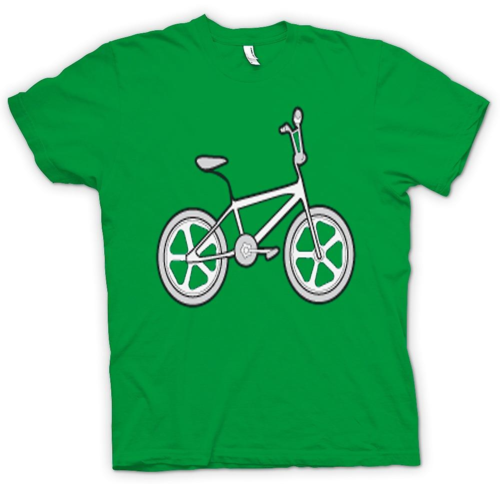 Mens T-shirt - Vintage 80s BMX Bike