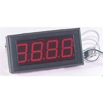 TechBrands 3.5 Digit Jumbo LED Panel Meter