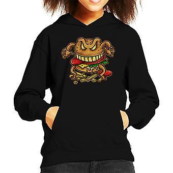 Curse Of The Burger Kid's Hooded Sweatshirt