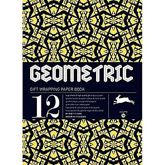 GEOMETRIC gift wrapping paper book Vol.16
