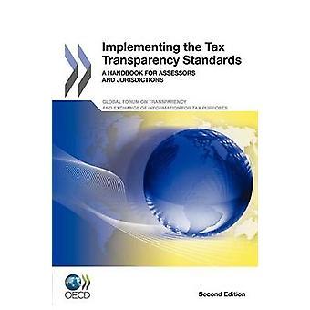 Implementando o manual de normas A transparência fiscal para avaliadores e jurisdições segunda edição pela publicação da OCDE