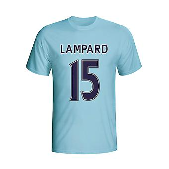 Frank Lampard Man City bohater T-shirt (niebo) - dla dzieci