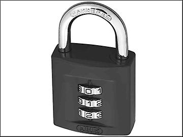 ABUS 158/40 40mm Combination Padlock ( 3 Digit) Die Cast Body Carded