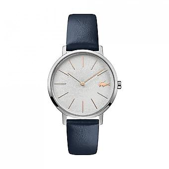 Guarda la luna 2001077 Lacoste - orologio display analogico bracciale in pelle blu donna