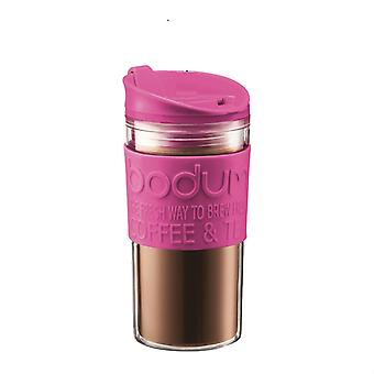 Bodum - Travel Mug - Screw Top Lid - 0.35l - Plastic & Rubber - Various Colours