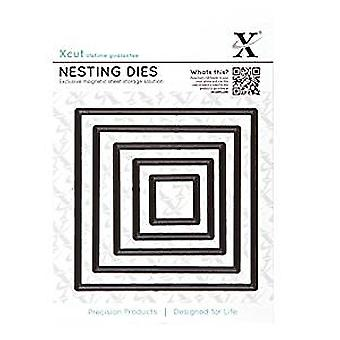 Xcut Nesting Dies (5pcs) - Square  (XCU 503402)