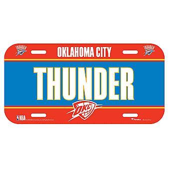 Matrícula de fanáticos de la NBA - Oklahoma City Thunder