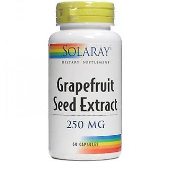 Solaray Grapefruit Seed Grapefruit 60 Capsules