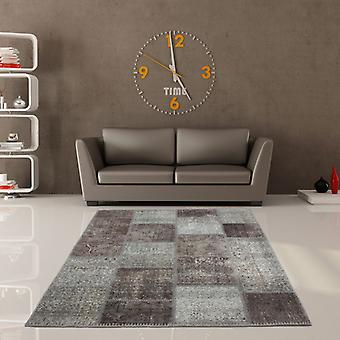 Rugs - Jumble Patchwork - 560 Silver