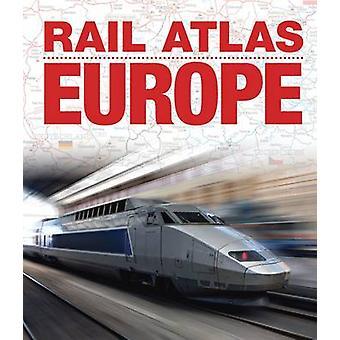 Rail Atlas Europe - 9780711038080 Book