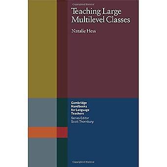 Teaching Large Multilevel Classes (Cambridge Handbooks for Language Teachers) (Cambridge Handbooks for Language Teachers)