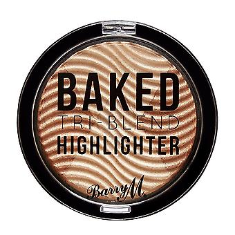 Barry M Baked Tri-Blend Highlighters - Bronze Deco