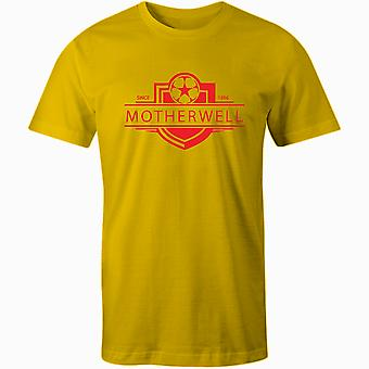 Motherwell 1886 Established Badge Kids Football T-Shirt