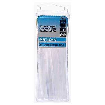 The Edge Nails Assorted Nail Tips - Artizan (24 Pieces) (2017911)