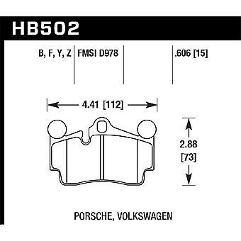 Hawk Performance HB502Z. 606 PC