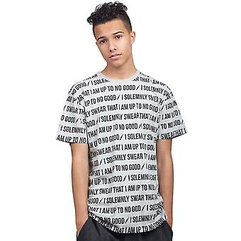 Harry Potter All Over Printed T Shirt I Solemnley Swear new Official Mens